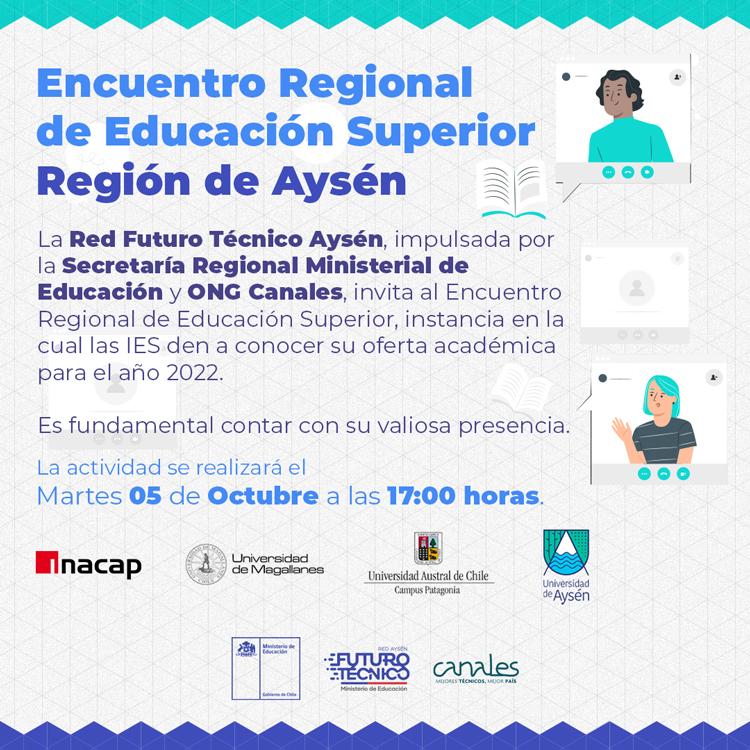 Encuentro regional de Educación Superior en Aysén